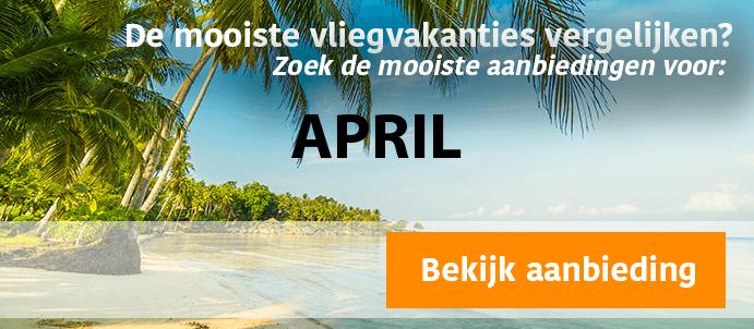 last-minute-vliegvakantie-april 2022